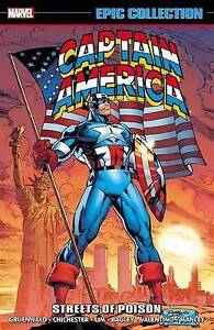 Captain America Epic Collection: Streets of Poison by Frenz, Randall -Paperback