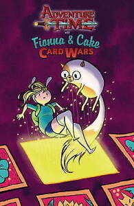 Adventure Time: Fionna & Cake Card Wars, Jen Wang, Excellent Book