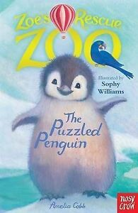 Zoes-Rescue-Zoo-The-Puzzled-Penguin-by-Amelia-Cobb-Paperback-2013