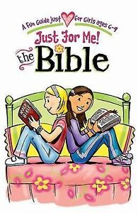 Just For Me: The Bible (Girls Devotional)