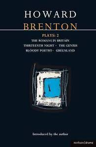 BRENTON: PLAYS TWO (World Dramatists Series) (Vol 2)-ExLibrary