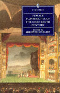 Good-Female-Playwrights-of-the-19th-Century-Everyman-039-s-Library-Paper-Boo