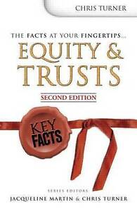 Turner, Chris, Key Facts: Equity and Trusts, Second Edition, Very Good Book