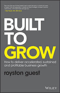 Guest, Royston-Built To Grow  BOOKH NEW