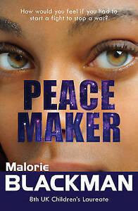 BLACKMAN, M-PEACE MAKER  BOOK NEW