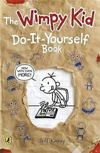 Diary-of-a-Wimpy-Kid-Do-It-Yourself-Book-By-Jeff-Kinney-in-Used-but-Good-condi