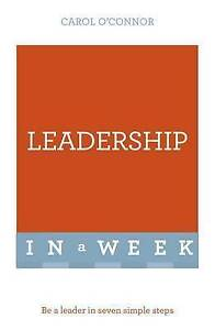 Successful Leadership in a Week by O'Connor, Carol -Paperback