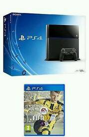 Ps4 with fifa 17 new sealed