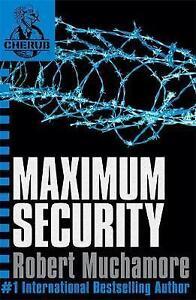Maximum-Security-Bk-3-CHERUB-Good-Condition-Book-Robert-Muchamore-ISBN-97