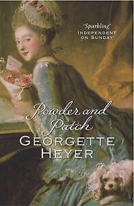 Powder-And-Patch-Miss-Georgette-Heyer-Used-Good-Book