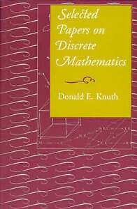 Selected Papers on Discrete Mathematics (Center for the Study of-ExLibrary