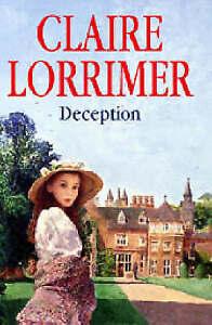 """VERY GOOD"" Lorrimer, Claire, Deception, Book"