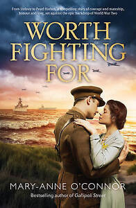 Worth Fighting for by Mary-Anne O'Connor Paperback Book