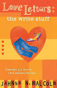 """""""VERY GOOD"""" Malcolm, Jahnna N., The Write Stuff (Love Letters), Book"""