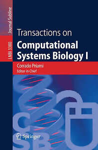 Transactions on Computational Systems Biology I (Lecture Notes in Computer Scie