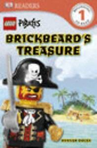Lego Pirates Brickbeard's Treasure (DK Readers: Level 1), Dolan, Hannah, Very Go
