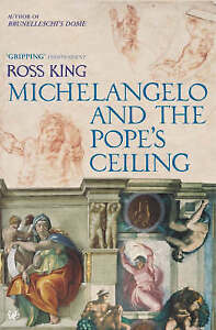 Michelangelo-and-the-Pope-039-s-Ceiling-by-Ross-King-Paperback-Book-English