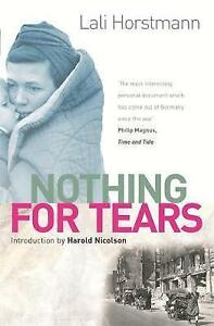 Nothing For Tears, Horstmann, Lali, New condition, Book