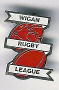 Wigan Rugby League Badges