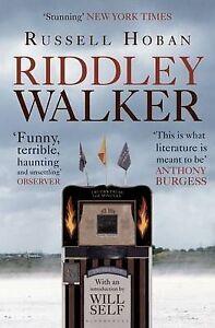 Riddley Walker, Self, Will, Hoban, Russell Paperback Book