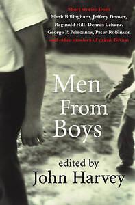 Men From Boys, Harvey, John, New Book