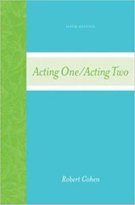 Acting One/Acting Two  5th edition