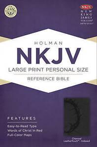 Large Print Personal Size Reference Bible-NKJV by Broadman & Holman...