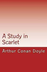 A Study in Scarlet by by Doyle, Arthur Conan -Paperback