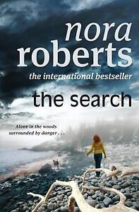 The Search, Nora Roberts, Very Good condition, Book