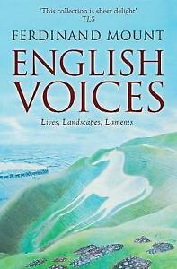 English-Voices-Lives-Landscapes-Laments-by-Mount-Ferdinand-Paperback-Book