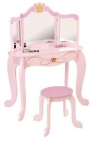 Kidkraft Princess Dressing table Make-up table 76123 incl. Stool