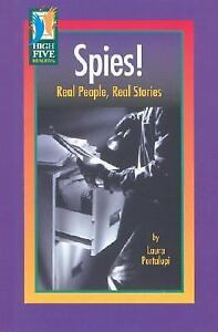 Spies!: Real People, Real Stories (High Five Reading)-ExLibrary