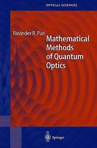 Mathematical Methods of Quantum Optics, Ravinder R. Puri