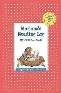 Mariana's Reading Log: My First 200 Books (Gatst) by Zschock, Mar 9781516206650