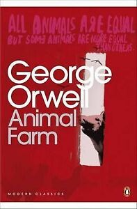 Animal-Farm-A-Fairy-Story-Penguin-Modern-George-Orwell-NEW-PAPERBACK