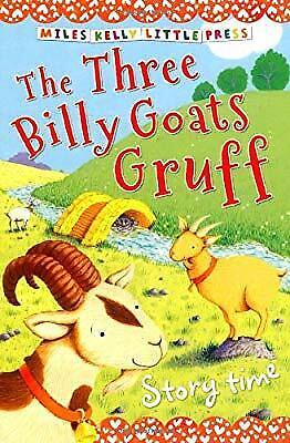 Story Time The Three Billy Goats Gruff (Little Press) (Little Press Story (The Three Little Billy Goats Gruff Story)
