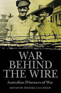 #VW9,, Michael Caulfield WAR BEHIND THE WIRE, SC VGC