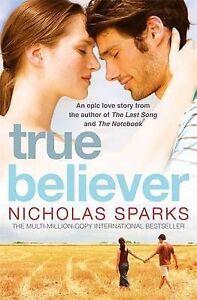 True-Believer-Nicholas-Sparks-Very-Good-condition-Book