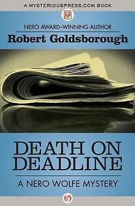 Death on Deadline by Goldsborough, Robert -Paperback