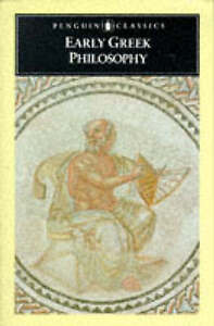 Early Greek Philosophy (Classics), By ,in Used but Acceptable condition