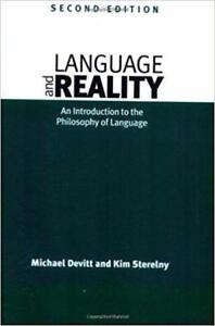 Language and Reality An Introduction to the Philosophy of Language 2nd edition