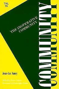 An Inoperative Community von Jean-Luc Nancy (1991, Taschenbuch)