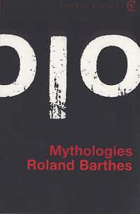 Mythologies (Vintage classics), Barthes, Roland Paperback Book