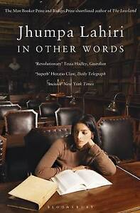 IN OTHER WORDS / JHUMPA LAHIRI	9781408866139