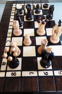Chess Set boardgame combo Sydney Region Preview