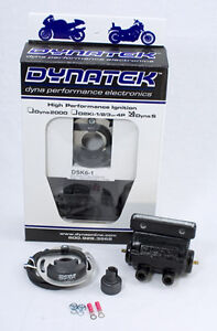 Dynatek DSK6-1 Points Repl Dyna S Dual Fire Ignition & Coil For Harley-Davidson