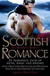 """VERY GOOD"" Telep, Trisha, The Mammoth Book of Scottish Romance: 21 Passionate T"