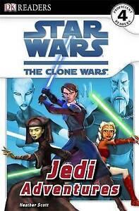 DK Star Wars The Clone Wars Jedi Adventures (Paperback) Beginner Reader