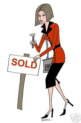 real estate realtor DIVA personalized cards   cute gift
