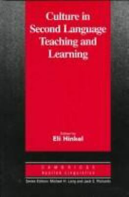 Culture in Second Language Teaching and Learning by Hinkel,